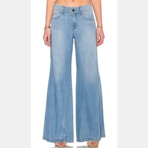 Level 99 Tyler Twisted Wide Leg Flare Jeans 28